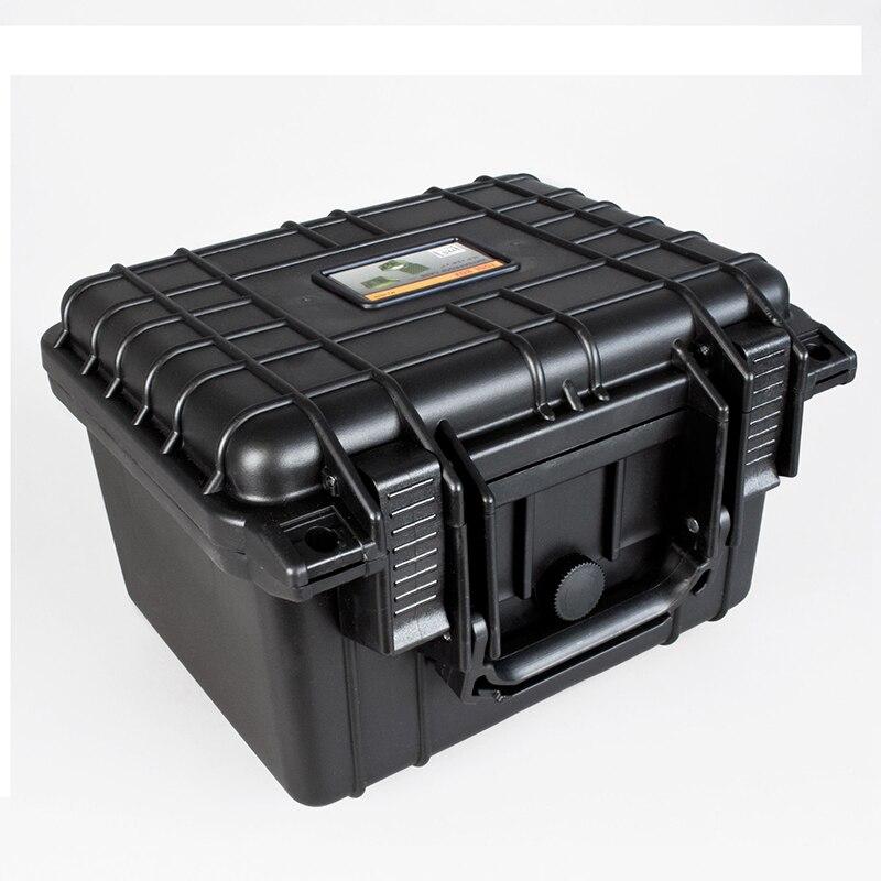 Caixa de Ferramentas à Prova Caixa de Ferramentas Resistente ao Impacto Case de Segurança Mala da Câmera com Espuma Dwaterproof Água Equipamento Selado Pré-cortada 233*178*155mm