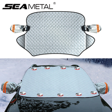 Внешнее покрытие автомобиля, защита от снега, лобовое стекло, защита от снега, защита от льда, магнитная накидка на лобовое стекло, защита от льда, защита от льда, для авто