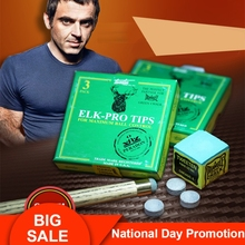 Ronnie OSullivan  ELK-PRO Tips Professional Pool Cue Billiards Accessories Several Options Moistureproof Optimal