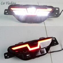 Car Flashing 1PCS For Toyota C HR CHR 2016   2019 LED driving Lamp DRL Rear Bumper tail light Daytime fog lamp Brake Lights