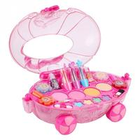 Princess Makeup Set Fashion Car Toy Water Soluble Beauty Girls Toys Pretend Play for Kids Christmas Birthday Gift