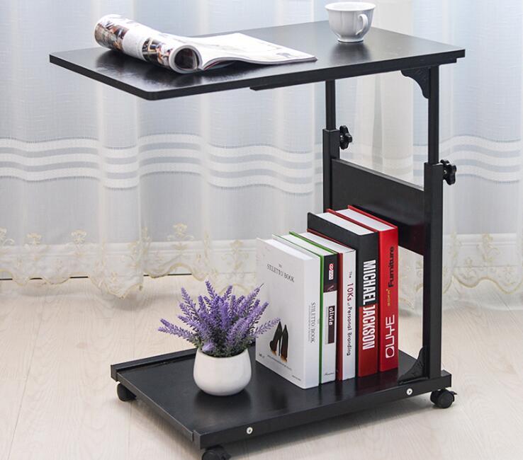 Modern Movable Laptop Desk Corner Desk Bed Reading Table For Living Room Bedroom