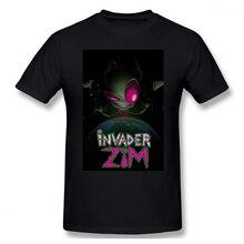 Invader Flakes Invader Zim Casual O-Neck Men's Basic Short Sleeve T-Shirt 100% Cotton Tee Shirt Printed men clothes 2019 engl e642 invader 100