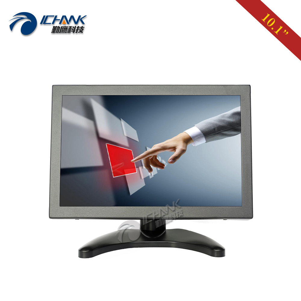 ZB101TC 56H/10.1 inch 1920x1200 IPS Full View HDMI HD Metal Case Industrial Anti interference Touch Monitor LCD Screen Display