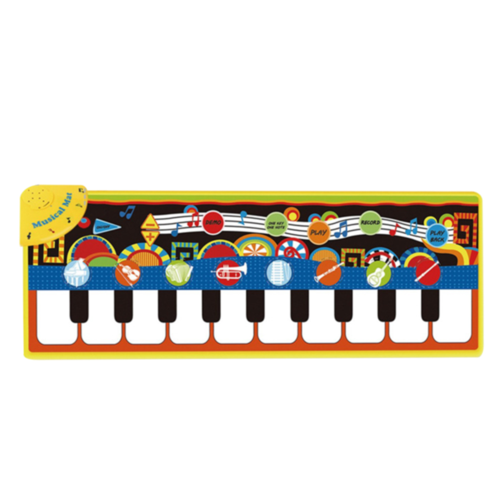 Touch Toys Baby Game Keyboard Singing Childrens Musical Carpet Educational Gift Birthday Early Learning Piano Mat Blanket Play