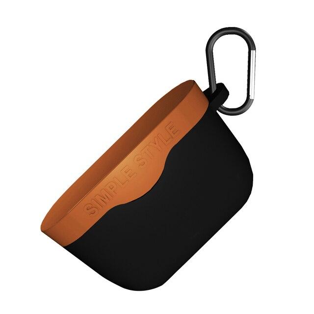 Anti chute avec couverture Silicone accessoires Anti-poussière housse de protection sans fil Bluetooth étui pour casque solide pour Sony WF1000XM3