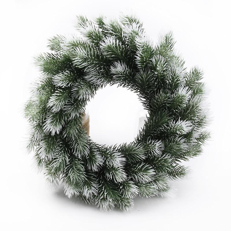 10/20 штук Рождественский венок материал растения искусственные, свадебные декоративные венки для укращения во время домашний декор, пластик...