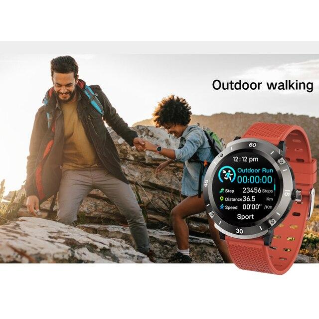 Robbid Prime inteligentny zegarek sportowy mężczyźni kobiety GPS HD w pełni dotykowy Smartwatch monitorujący tętno pomiar podczas snu Bluetooth podłącz Android zegar