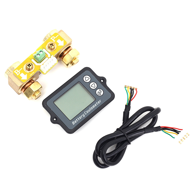 80V 350A Coulomb Meter Battery Capacity Indicator Coulometer Power Level Display Professional Lithium Battery Tester Promotion