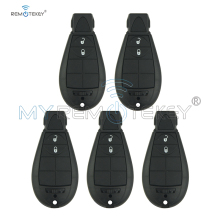 цена на Remtekey 5pcs #0 Fobik 2 Button 434 Mhz Remote Car Key for Jeep Grand Cherokee 2008 2009 2010 2011 2012 2013 Replacement Key
