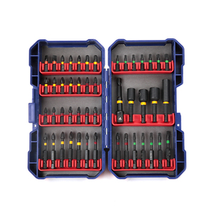 Image 4 - Brocas de destornillador WORKPRO para destornillador eléctrico 47 en 1 ranurado/Phillips/Torx/Pozidriv Bits Juego de llaves para tuercas de impacto puntas duras