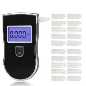 2050Pcs Durable Mouthpieces for AT-818 Breath Alcohol Tester Breathalyzer Digital Breathalyzer's Blowing Nozzles Mouthpieces