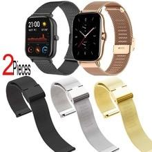 Milanese Watchband dla Colmi P8 Plus Pro Se P15 P9 P10 V11 V23 Terra 1/2s pasek do bransoletki 20mm smartband z zegarkiem nadgarstek