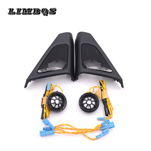 High quality tweeter covers for BMW f10 f11 5 series speakers audio trumpet head treble speaker ABS material original model fit(China)