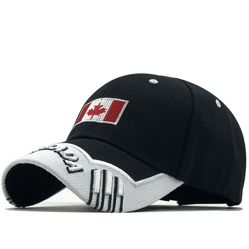 Gorras Snapback-Hat Baseball-Cap Canada-Flag Fishing Mens Brand of Adjustable Wonmen