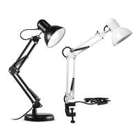 Adjustable Swing Arm Light Drafting Design Office Studio C Clamp Table Desk Lamp Home _WK