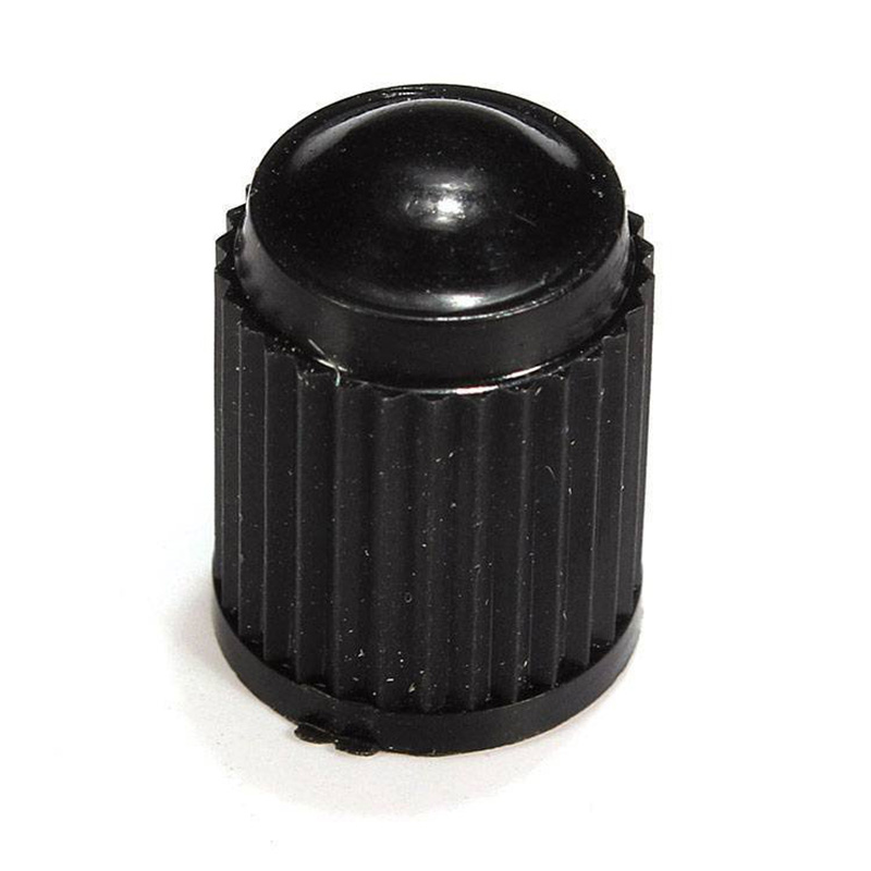 100 шт пластиковые колпачки клапана для шин крышка клапана для автомобиля мотоцикла черный