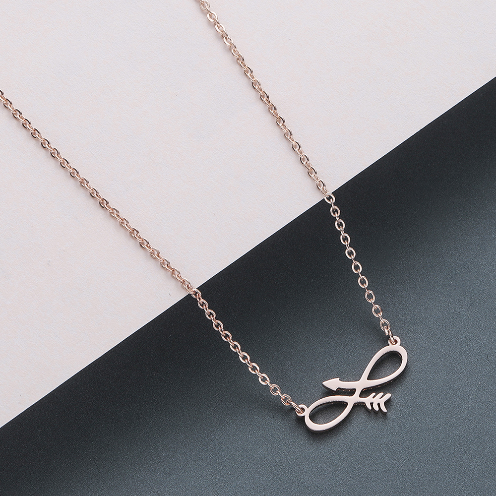 Todorova Stainless Steel Curved Crescent Moon Pendant Necklace OX Double Horn Necklaces for Women Delicate kolye Jewelry 2