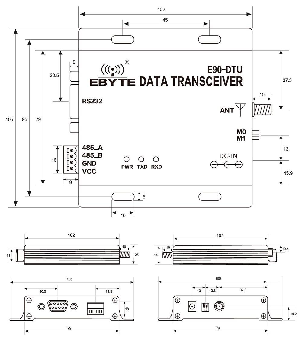 E90-DTU