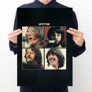 Let It Be Beatles Classic Album Poster