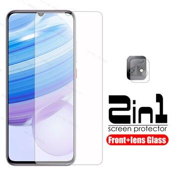 Перейти на Алиэкспресс и купить Защитное стекло redmi 10x 2 в 1 для xiaomi redmi 10x10 x 5G redmi10x redmy 10pro 6,57 Защитная пленка для объектива камеры