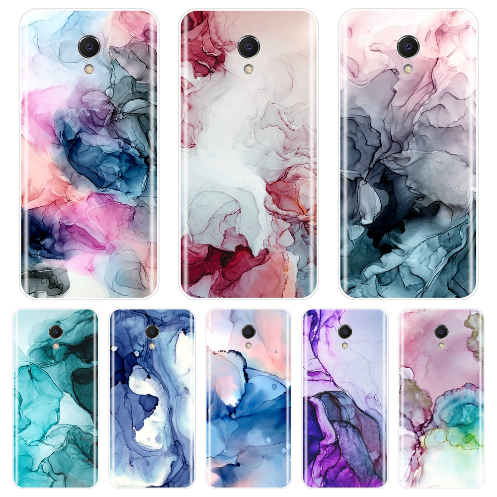 Marble Art Purple <font><b>Back</b></font> <font><b>Cover</b></font> For <font><b>Meizu</b></font> M6 M6S M6T M5 M5C M5S M3 <font><b>M3S</b></font> M2 Soft Silicone Case For <font><b>Meizu</b></font> M6 M5 M3 M2 Note Phone Case image