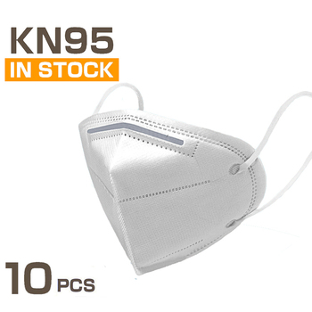 10 Pcs KN95 Masks 4 Layers Filter Dust Mouth PM2.5 Face Mask Flu Personal Protective Health Care Mask Fast Shipping