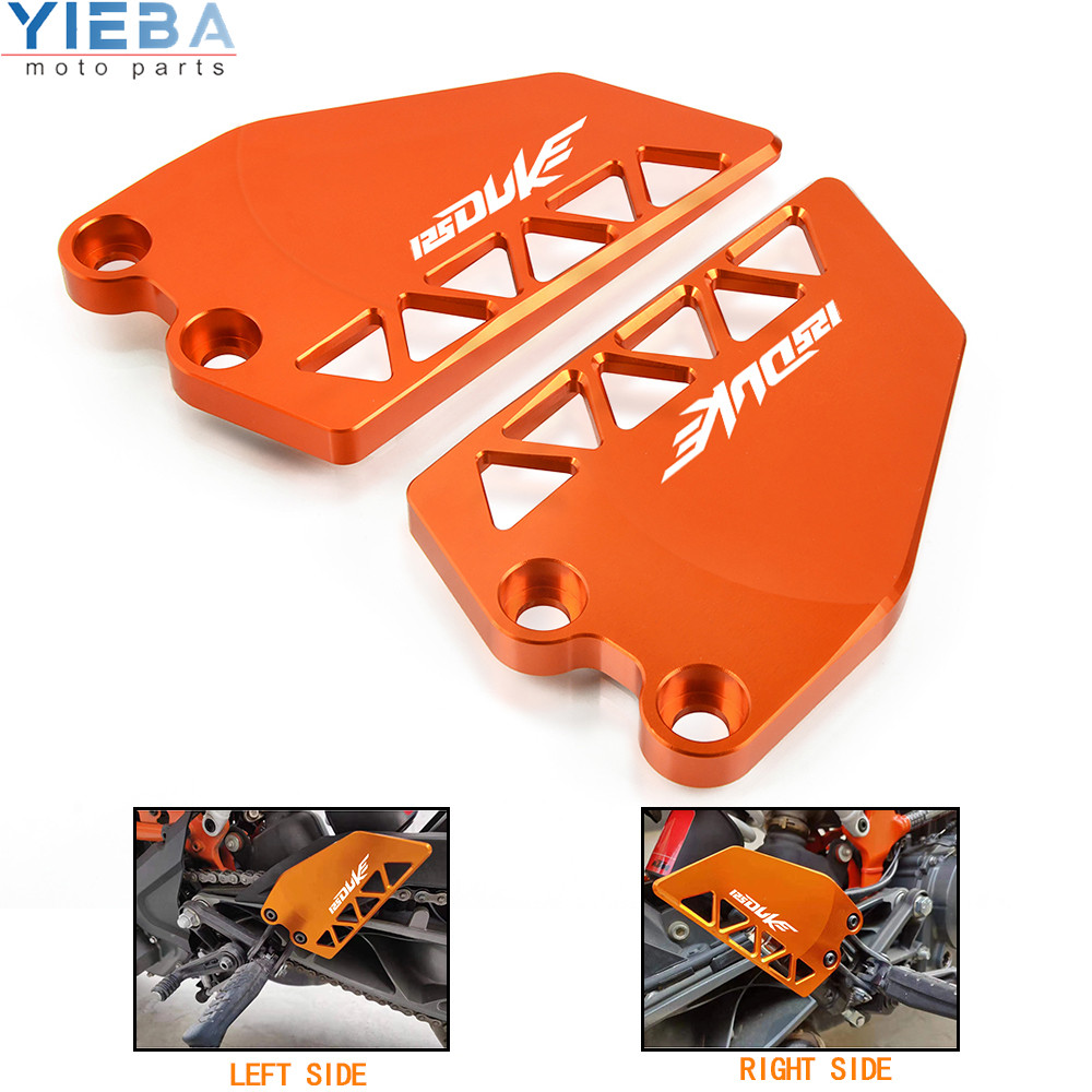 FOR KTM DUKE 125 125DUKE 2017 2018 2019 Motorcycle Accessories in hot-selling Front Heel Protective Cover Guard Brake Cylinder image