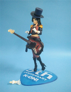 Image 4 - 20cm Anime Action Figure K ON 5th Anniversary Akiyama Mio Bassist Bass Guitar Ver 1/8 Scale PVC Model Collection Toys Doll New
