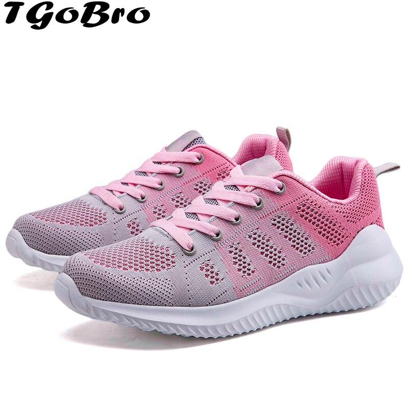 TGoBro Women's Athletic Walking Running Shoes Comfortable Lightweight Sneaker