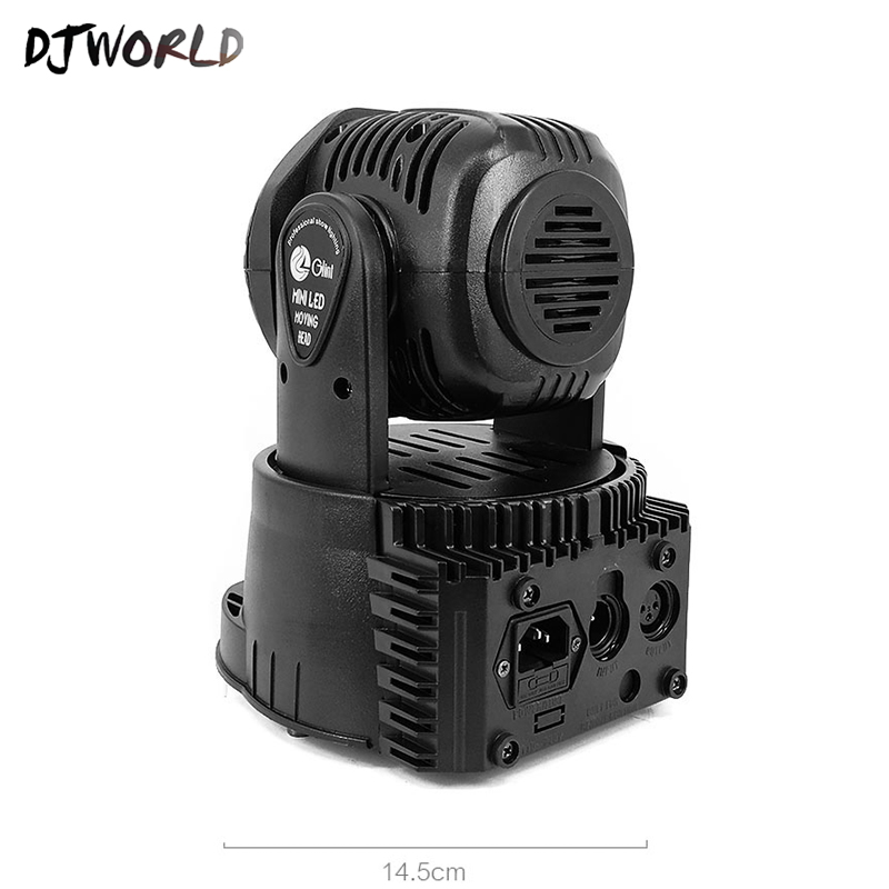 Image 4 - Djworld LED 7X18W Wash Light RGBWA+UV 6in1 Moving Head Stage Light DMX Stage Light DJ Nightclub Party Concert Stage Professional-in Stage Lighting Effect from Lights & Lighting on