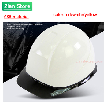 Safety Helmet Work ABS Engineering Protective Cap Adjustable with Strength Construction Site Insulating White Protect Helmet safety helmet hard hat work cap abs material construction protect helmets high quality breathable engineering power labor helmet