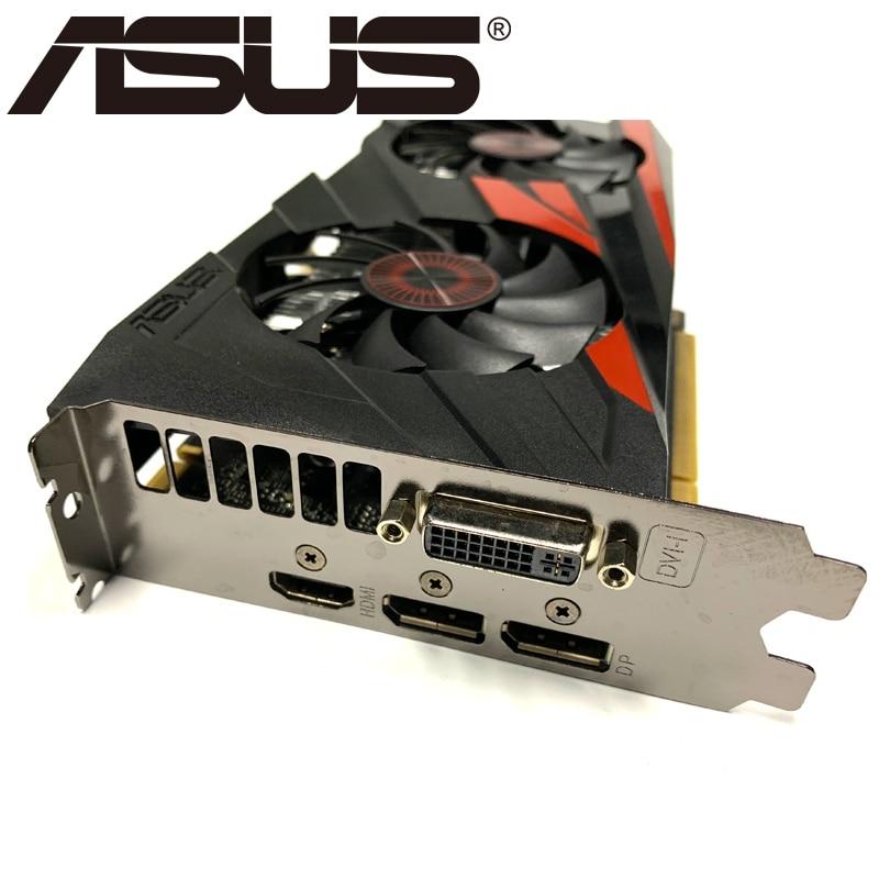 Видеокарта ASUS GTX 960 бывшая в употреблении, 128-битные видеокарты с памятью GDDR5 2 ГБ, выходами VGA и HDMI и поддержкой процессоров nVIDIA Geforce GTX960, GTX 750, Ti 950, 1050, 1060-5