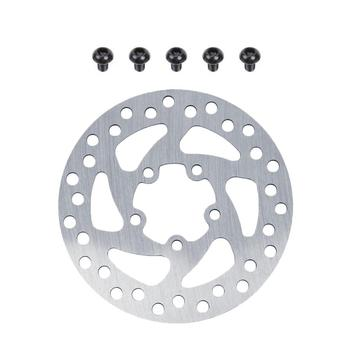 120mm 110mm Brake Pads Disc Rotor Pad Replacement Parts with 5pcs Screws for xiaomi Mijia M365 pro Electric Scooter Skateboard image