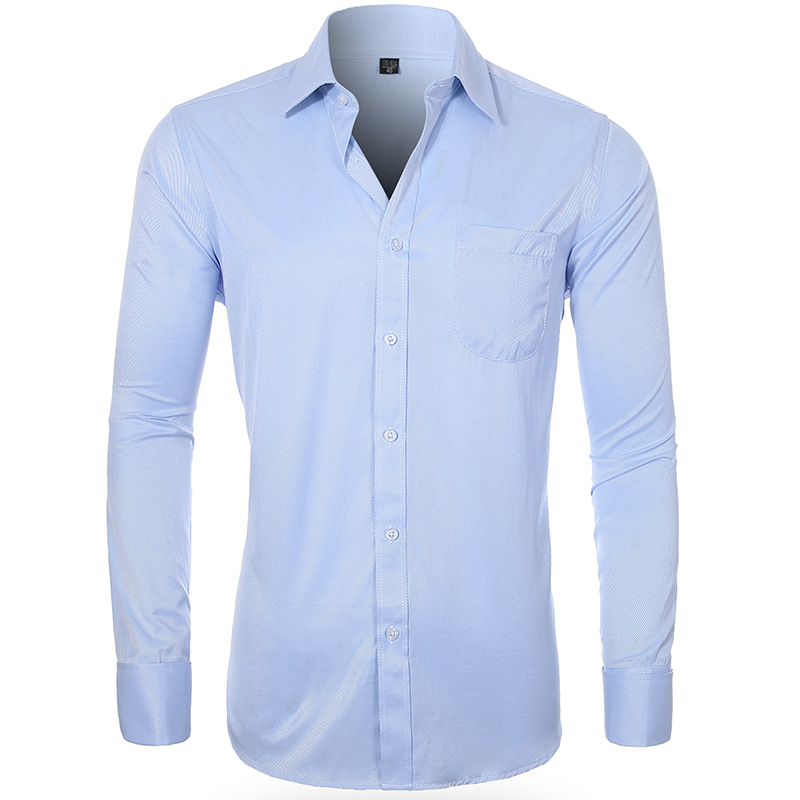 [] Airwallex Men's French Cufflinks Large Size Shirt