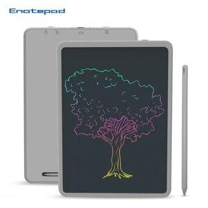 Enotepad 11 дюймов цветной ЖК-экран для рисования планшет повторное использование для деловых переговоров Примечания вычисления чертежные пане...