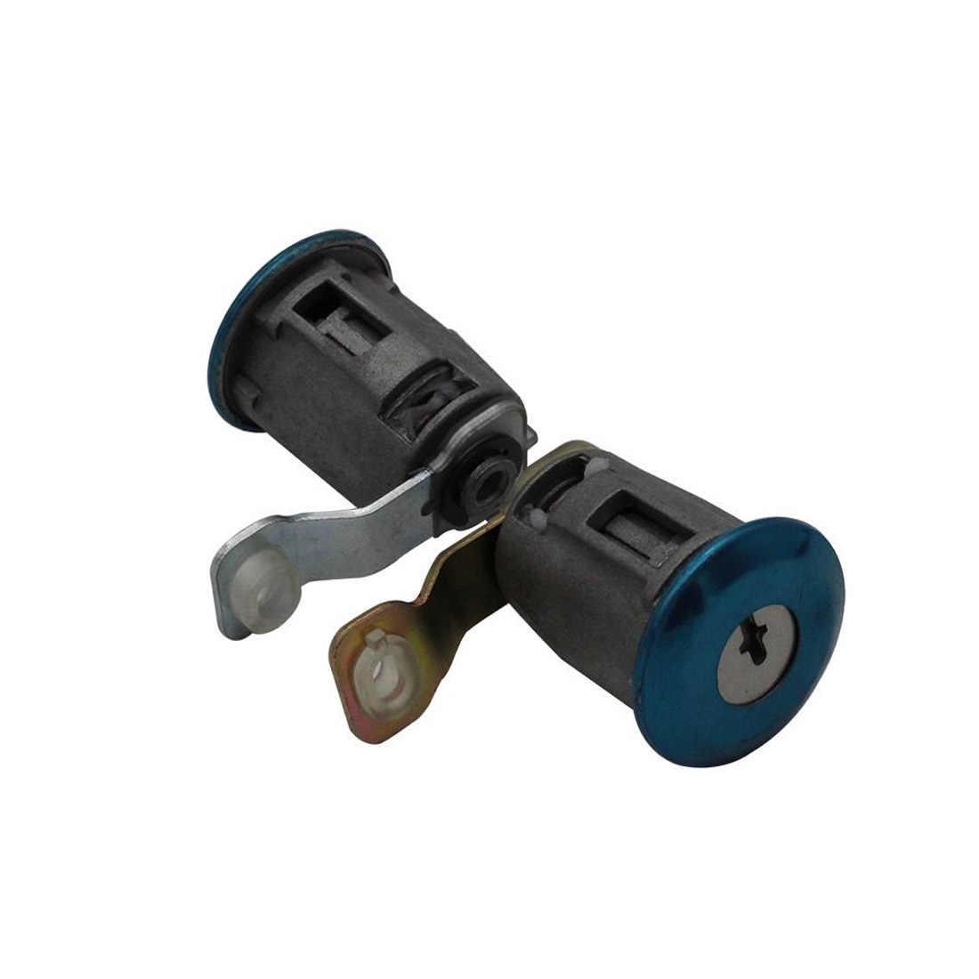 Cilindro de la cerradura de la puerta del coche con 2 llaves accesorios de diseño del coche para el socio Peugeot Citroen Berlingo Xsara-Xsara Picasso