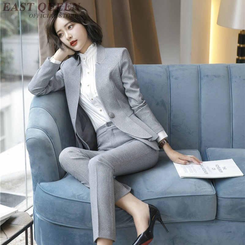 オフィスドレス女性 2019 ビジネス女性のオフィス作業服の女性 Ol セクシーなパーティーペンシルドレスインタビュースーツ AS016