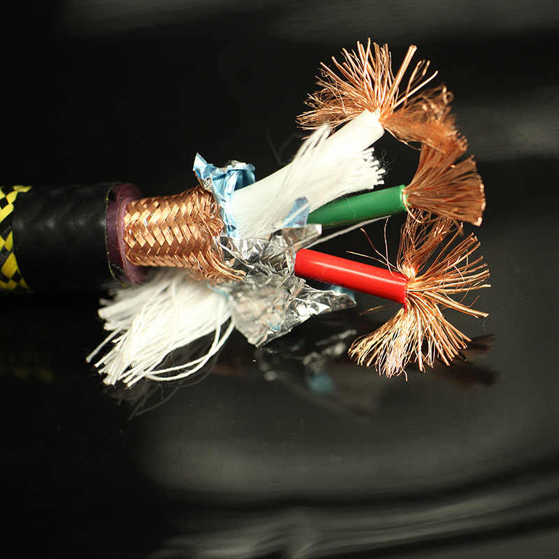 HiFi MPS M-7MK2 99.99997% OCC רמקול חוט רמקול אודיו כבל חשמל AC כבל עבור Hifi מגבר CD DVD