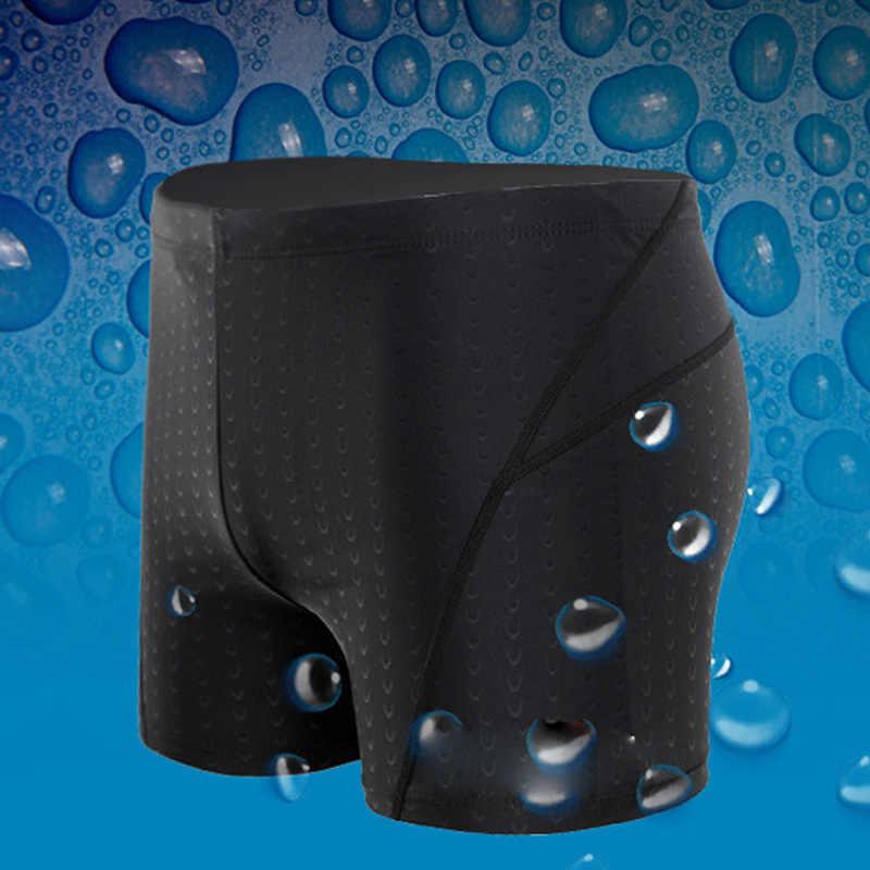Hot sprzedaży mężczyźni Faux Sharkskin kąpielówki szybkoschnący oddychający duży rozmiar bokserki kąpielówki wygodne
