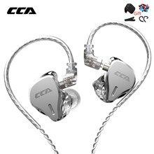 CCA CS16 16BA Einheiten HIFI In Ohr Metall Kopfhörer Noise Cancelling Sport Headset Hohe-qualität Gaming Ohrhörer Für ZSX ASX EDX ZAX