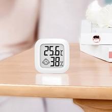 Mini termômetro digital temperatura interna/medidor de umidade fácil leitura prática fácil instrumento higrômetro termômetro digital