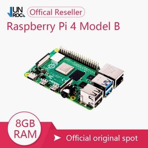 Image 1 - חדש מקורי רשמי פטל Pi 4 דגם B RAM 2G4G8G 4 Core 1.5Ghz 4K מיקרו HDMI Pi4B 3 מהירות מ Raspberr Pi 3B +