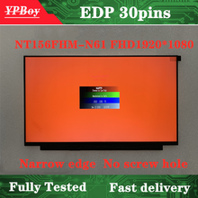 Display-Panel NT156FHM-N61 Replacement Laptop Lcd-Screen Matrix for BOE Full-Fhd 1920--1080
