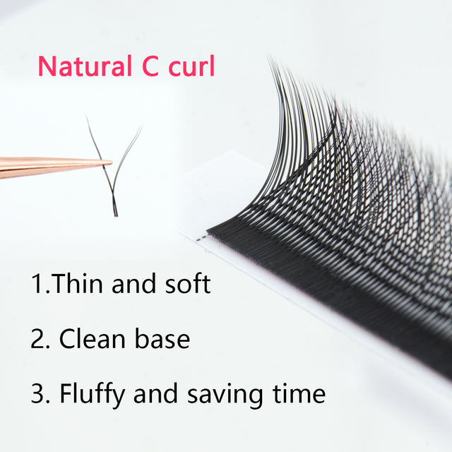 COZBIRD YY LASH Y shape eyelash extension supplies 0.07 Easy fanning Volume lash Flase lashes Faux mink 12 rows cilios 1