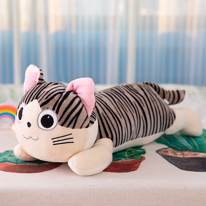 25cm Cat Plush Toys Chi Chi's Cat Stuffed Doll Soft Animal Dolls Cheese Cat Stuffed Toys Dolls Pillow For Kids Gifts