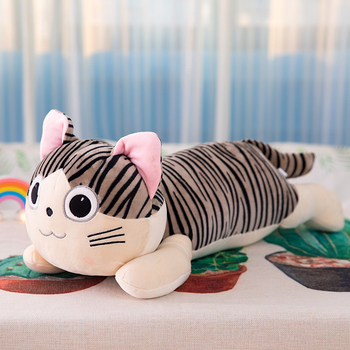 25cm Cat Plush Toys Chi Chi's Cat Stuffed Doll Soft Animal Dolls Cheese Cat Stuffed Toys Dolls Pillow For Kids Gifts chi s cheese cat private sweet cat papa big eyes cat plush toy doll kids toy home pillow