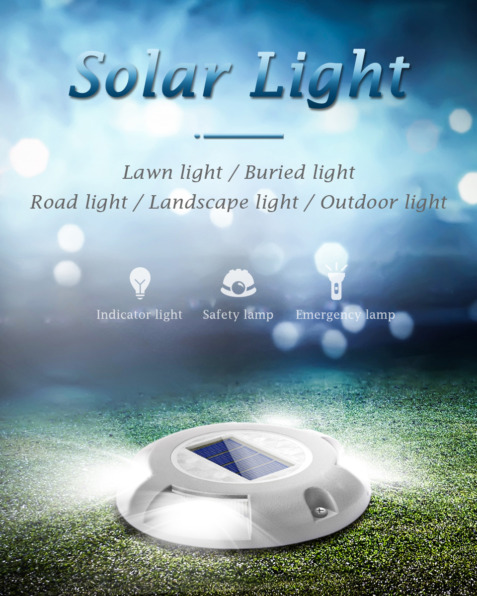 Solar outdoor buried light Landscape lamp