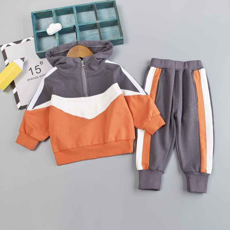 Autumn Winter Baby Girl Clothes Hoodies+Pants 2Pcs Outfits Kids Clothes Sport Suit For Boys Tracksuit Children Clothing Set 1-4Y