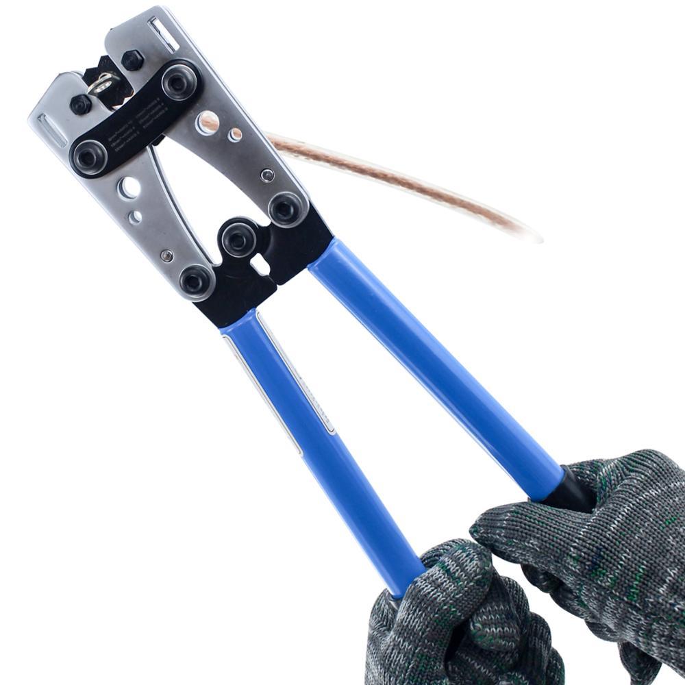 HX-50B обжимной инструмент с медной трубкой обжимной инструмент Обжимной Пилер обжимные инструменты 6-50мм2 кабельный обжимной инструмент терминал Cu/Al